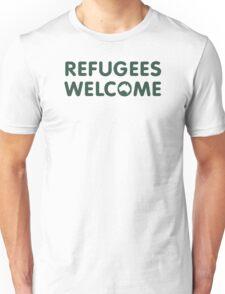 Refugees Welcome Australia (Green) T-Shirt