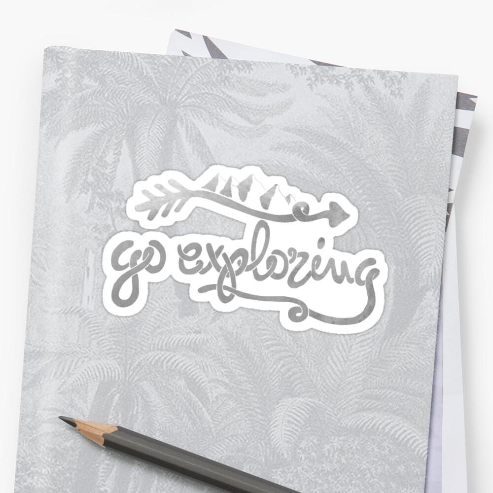 GO EXPLORING by Magdalena Mikos