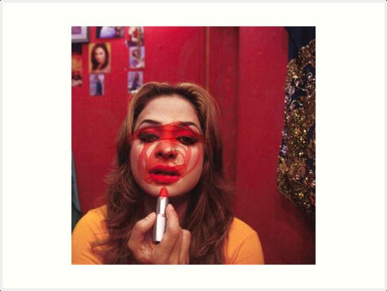 Lipstick gal  by genpcpartist
