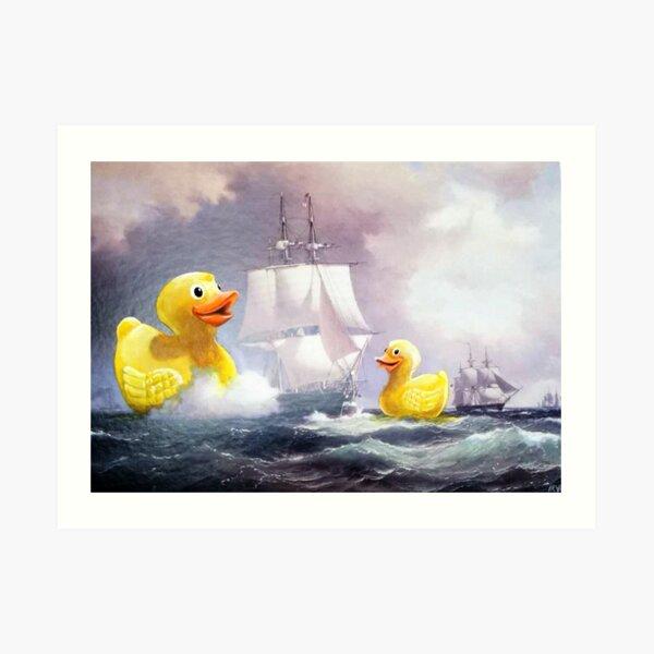 Terror on the High Seas 2 Art Print