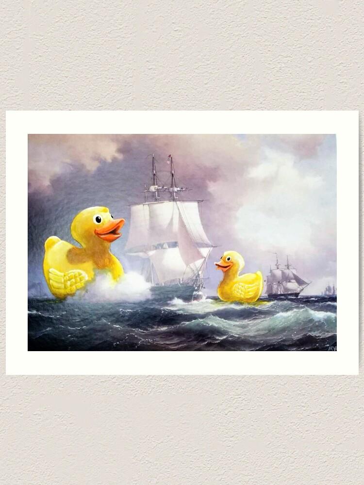 Alternate view of Terror on the High Seas 2 Art Print