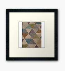 Geometric Colours Larger Framed Print