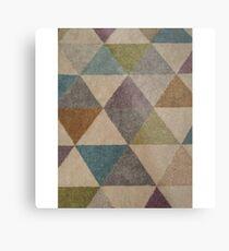 Geometric Colours Larger Metal Print