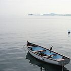 Boat on Lake Garda by Studio8107