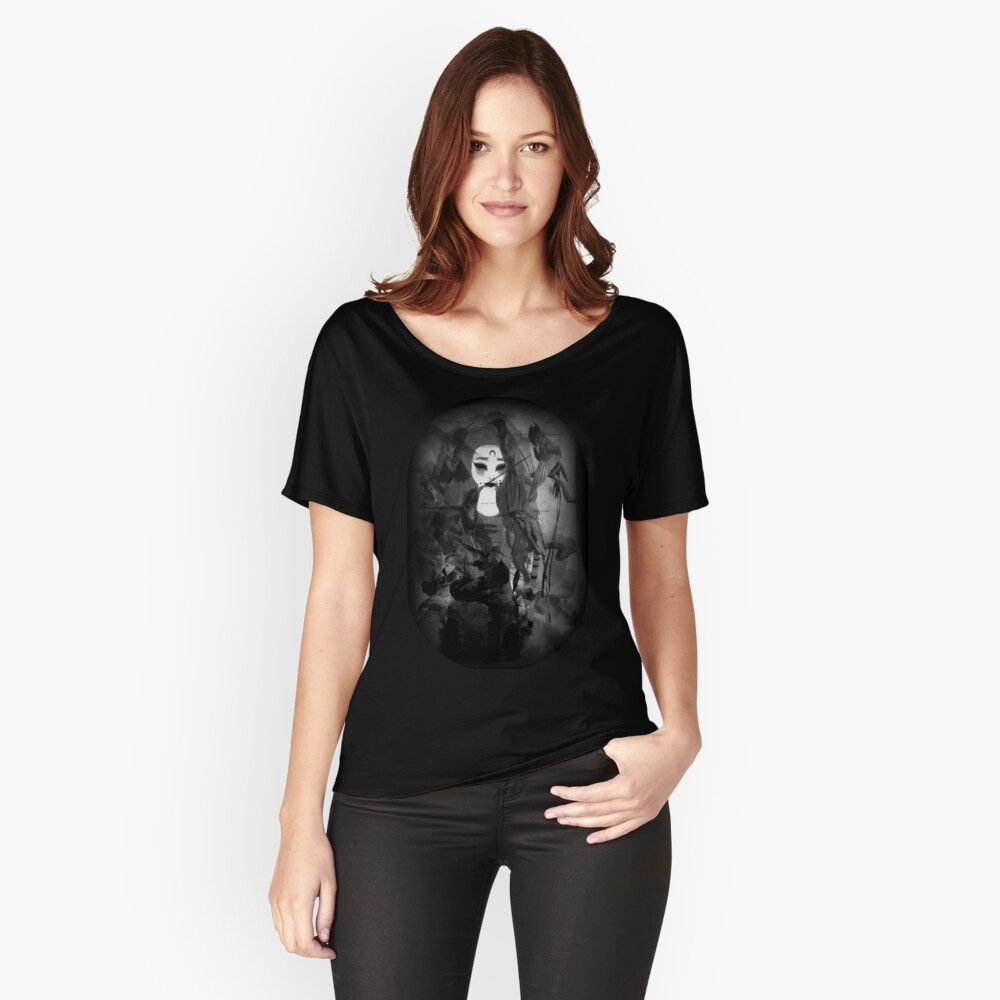 HOLLOW (TYPE #2)  Women's Relaxed Fit T-Shirt Front