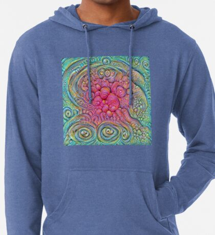 State of matter — Mesophase #DeepDream Lightweight Hoodie