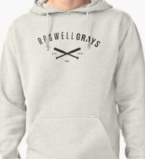 X Files: Roswell Grays Baseball Pullover Hoodie