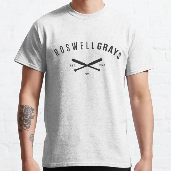 X Files: Roswell Grays Baseball Classic T-Shirt
