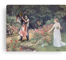 Not the Gardener Canvas Print