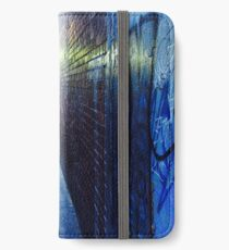 Narrow City Laneway As Night Falls  iPhone Wallet/Case/Skin