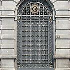Blue Door in Milan by Studio8107