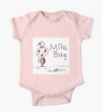 Mila Bug The Little Ladybird One Piece - Short Sleeve