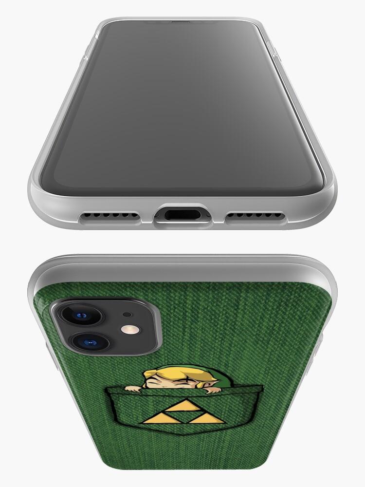 Alternate view of Legend of Zelda - Pocket Link iPhone Case & Cover