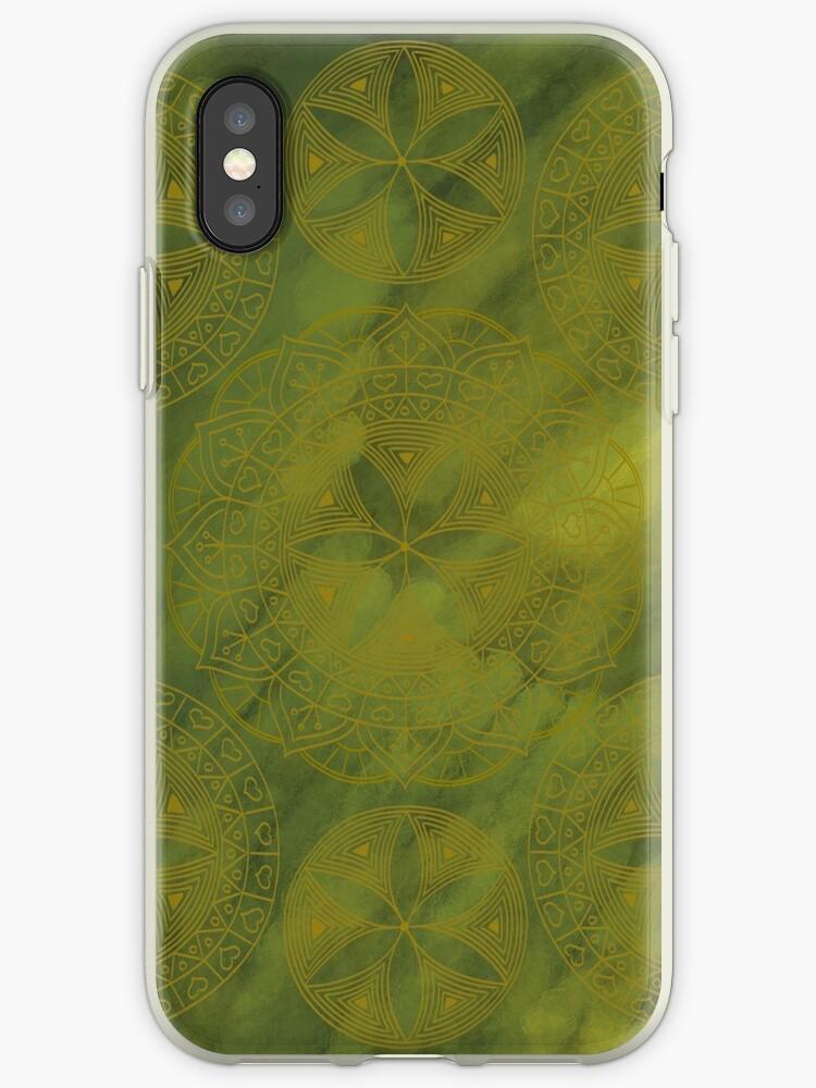 Mossy Mandala by Ampandora