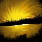 Golden Sunset by Ampandora