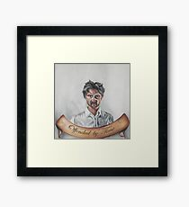 Offended by time (english version) Framed Print