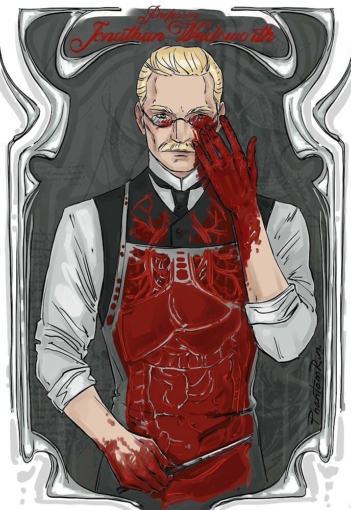 Professor Jonathan by PhantomRin