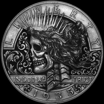 Peace Of the Death - Hobo Nickel by mrthe