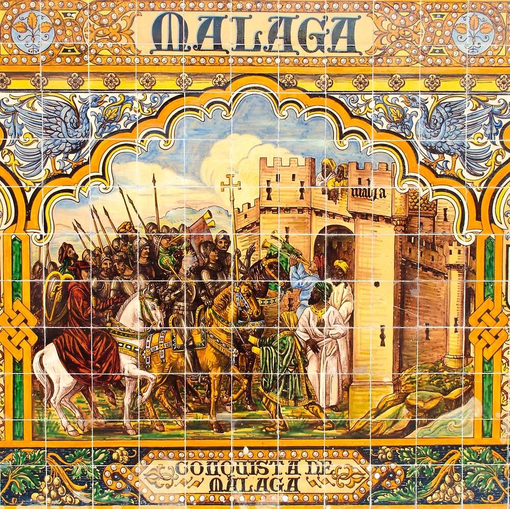 Malaga - Azulejos by Andrea Mazzocchetti