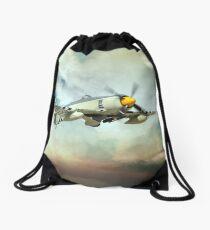 Sea Fury Drawstring Bag