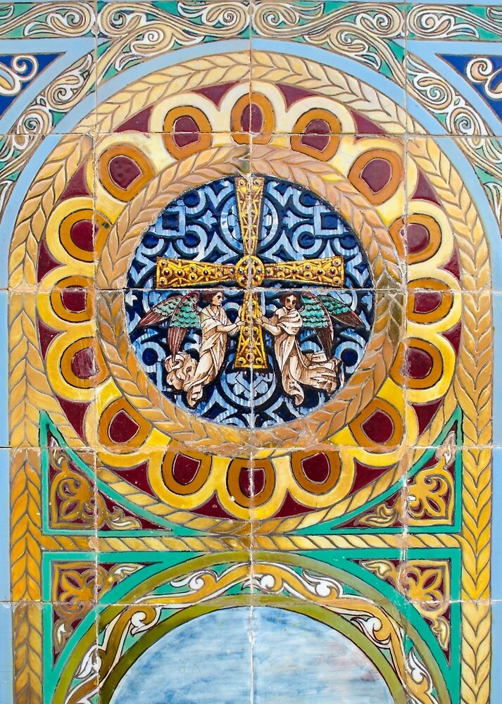 Azulejo - Colorful details  by Andrea Mazzocchetti