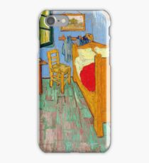 1889-Vincent van Gogh-The bedroom-73,6x92,3 iPhone Case/Skin