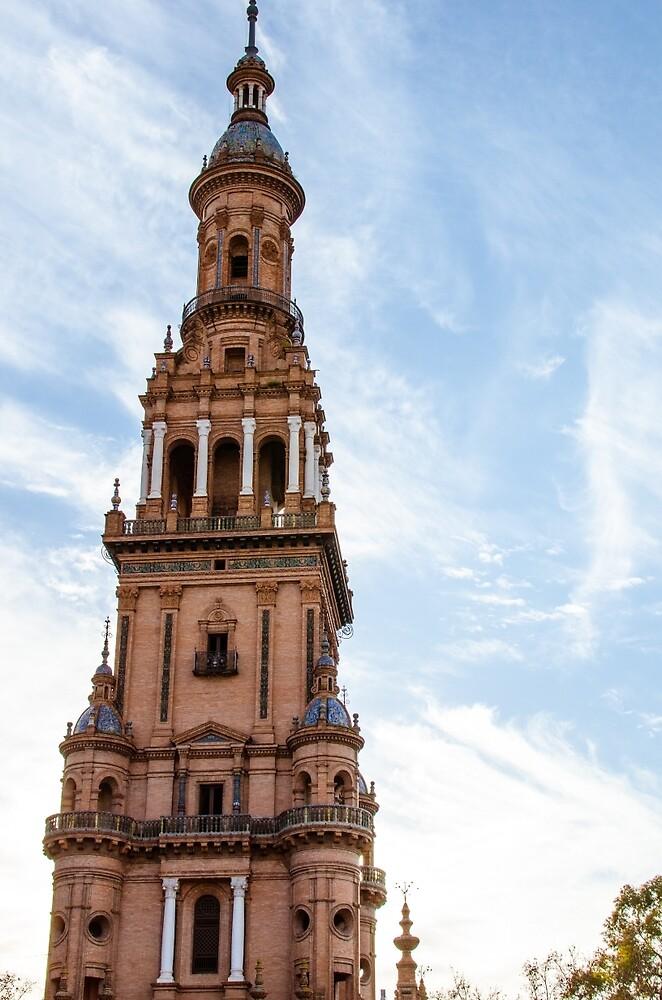 Plaza de Espana Tower by Andrea Mazzocchetti