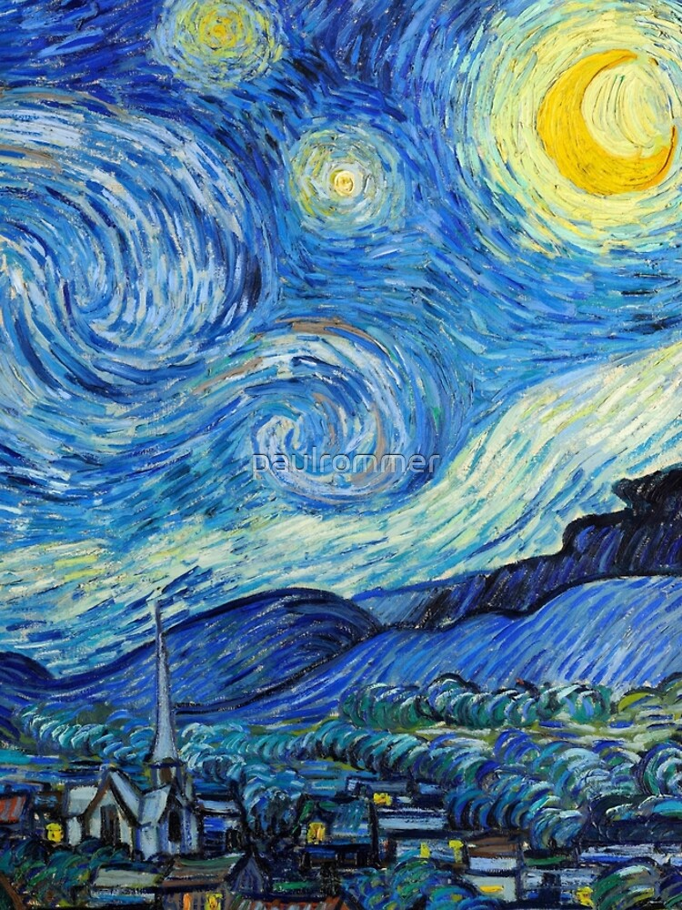 1889-Vincent van Gogh-The Starry Night-73x92 by paulrommer
