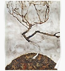 Egon Schiele - Small Tree in Late Autumn (1911)  Poster
