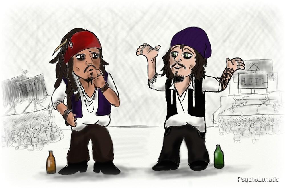 Jack Sparrow vs Ville Valo by PsychoLunatic