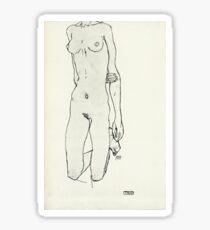Egon Schiele - Zeichnungen IV  (1913)  Sticker