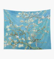 1890-Vincent van Gogh-Almond blossom-73.5x92 Wall Tapestry