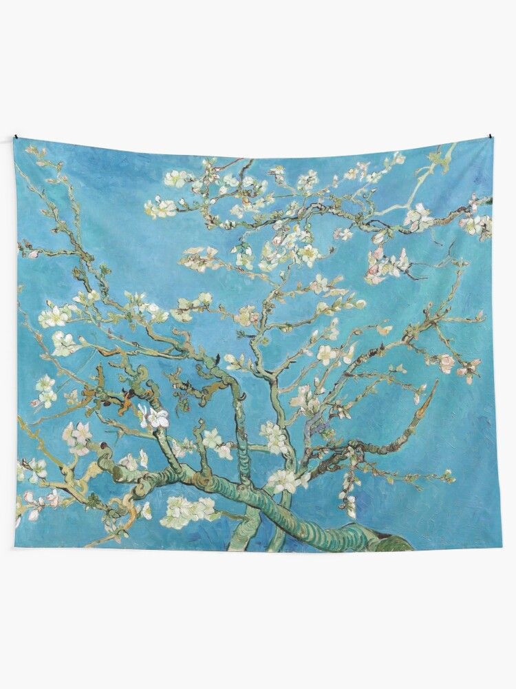 Alternate view of 1890-Vincent van Gogh-Almond blossom-73.5x92 Tapestry