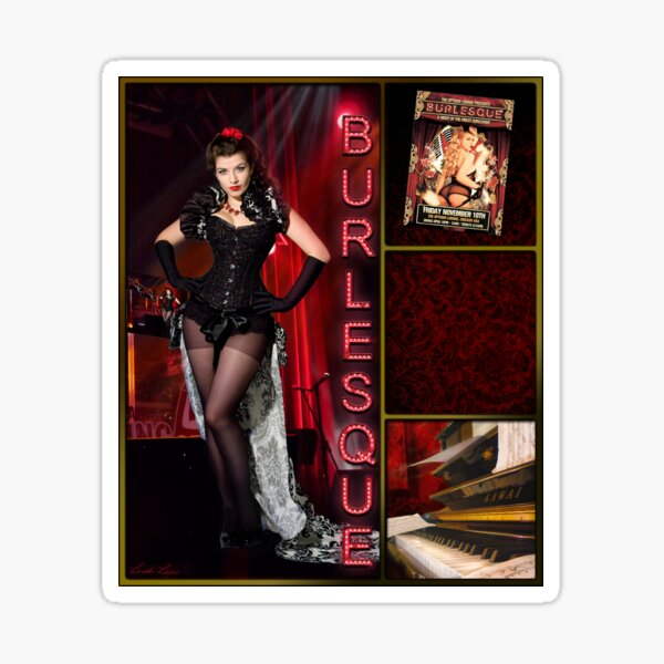 Dance series - Burlesque Sticker