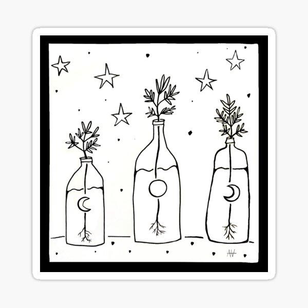 Plant magic Sticker