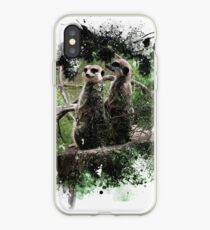 Meerkats lookout iPhone Case