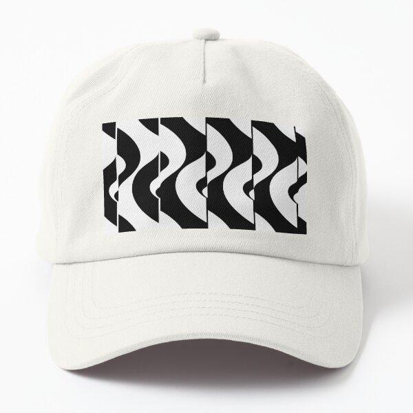 OpArt Waves Dad Hat