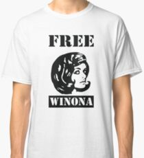 Camiseta clásica Winona Ryder - Winona gratis
