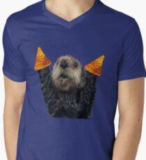 Dorito Otter Mens V-Neck T-Shirt