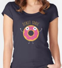 Donut Panic Women's Fitted Scoop T-Shirt