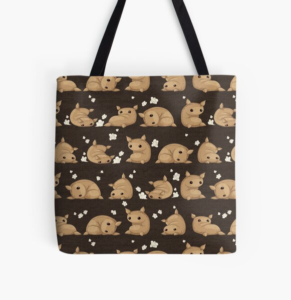 Burlap the Clumsy Flour Sack All Over Print Tote Bag