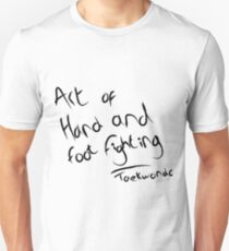 The art of hand and foot fighting Slim Fit T-Shirt