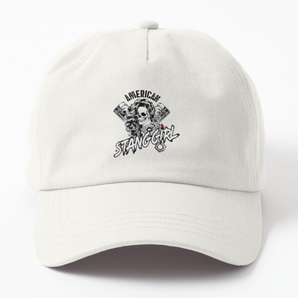 American Stanggirl hell Dad Hat
