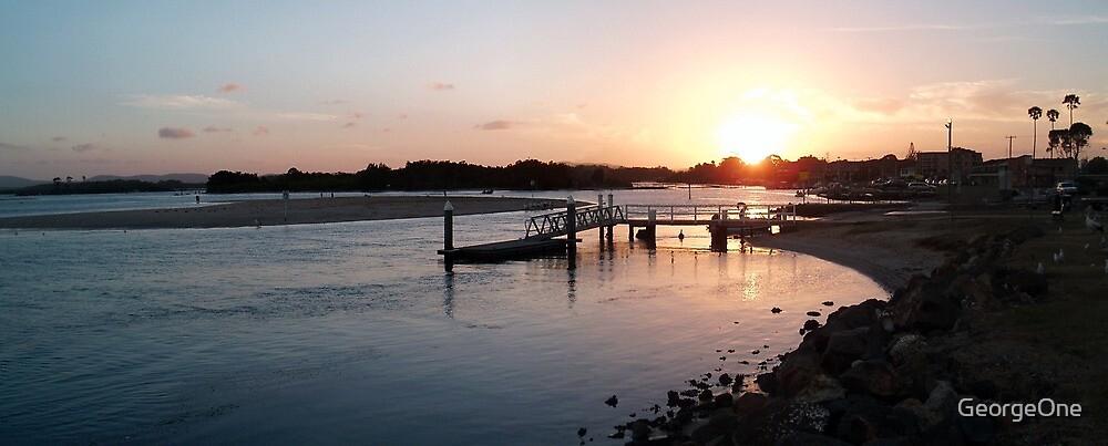 Tuncurry Sunset, North Coast NSW by GeorgeOne