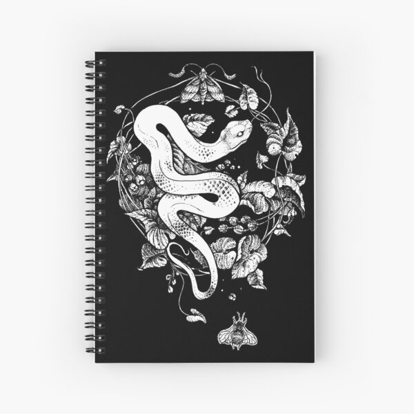 THE END OF THE SUMMER  Spiral Notebook