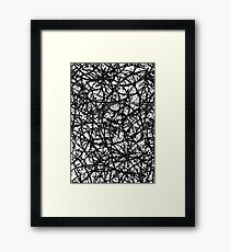 Grunge Art Abstract  Framed Print