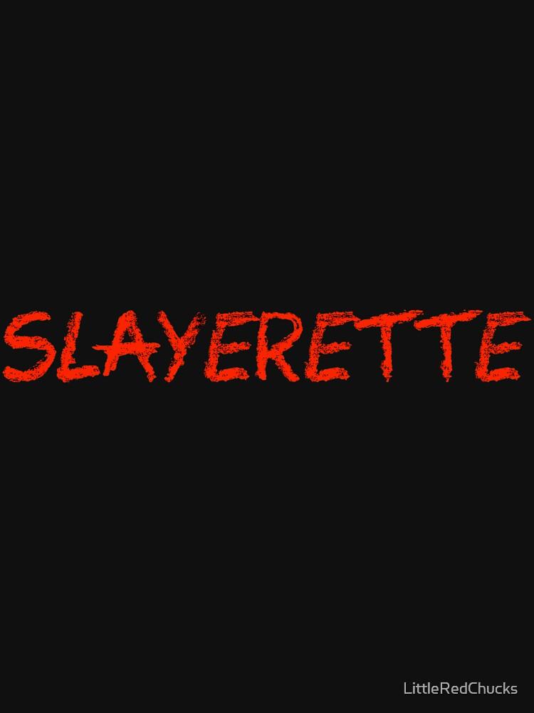 Slayerette by LittleRedChucks