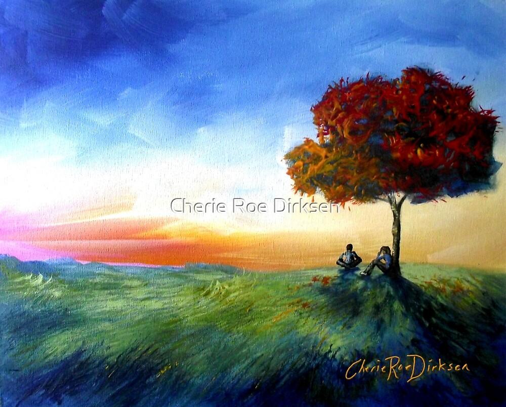 Sitting Under a Tree by Cherie Roe Dirksen