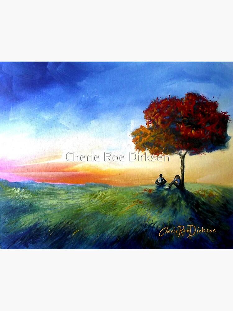 Sitting Under a Tree by cheriedirksen