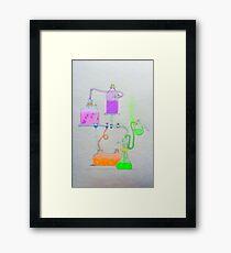 Science Lab Wonderland Framed Print